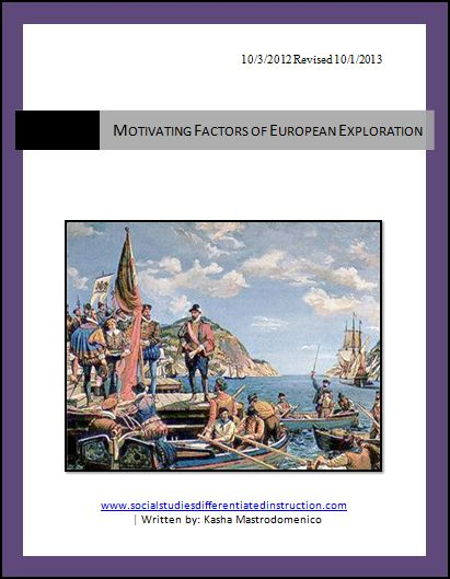 the factors that motivated europeans to explore and colonize the americas American history essays: the factors that motivated the european (spanish, portuguese, french, dutch and english in particular) to explore and colonize north america.